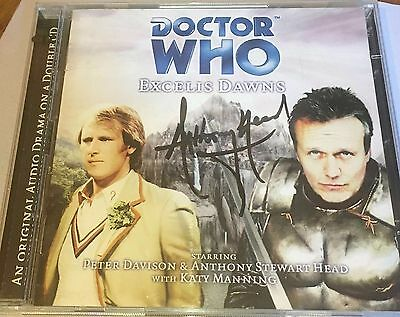 Excelis Dawns - Doctor Who (Audio CD) - Signed by Anthony Stewart Head  [CH]