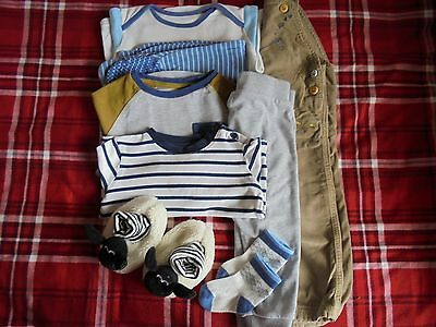 Boys seven item bundle age 12-18 months Next etc