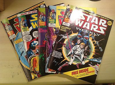 STAR WARS WEEKLY Issues 1-5