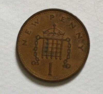 1971 New Penny 1p Coin (circulated) Collector Piece