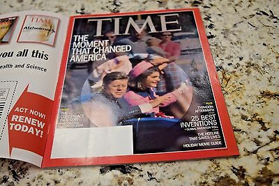 The Moment That Changed America TIME Magazine Nov 2013 The KENNEDY ASSASSINATION