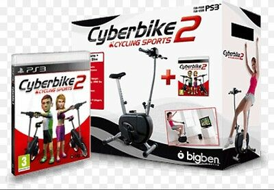 Cyberbike 2 Ps3 Con Gioco Bicicletta Fitness Cyclette Cyber Bike Play Station 3
