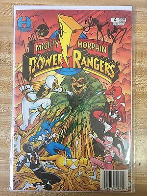 Mighty Morphin Power Rangers #4 Signed By Original Cast // Read Description