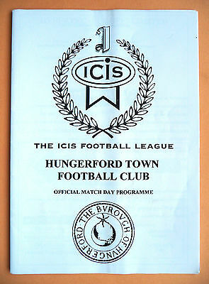 Hungerford Town v Poole Town 1995/1996 - fa cup preliminary round - 26/08/1995