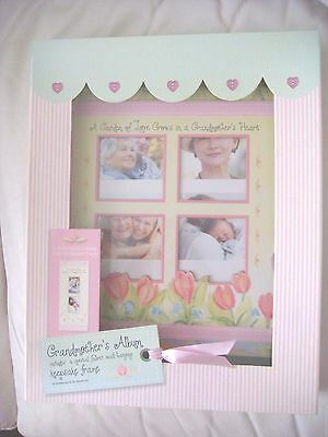 A Grandmother's album and keepsake frame + fabric wall hanging by Spice Box