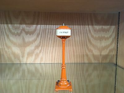 Lionel 57 Lamp with 4 Names Rare