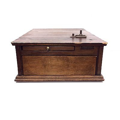 Antique Cash Register Till / Wooden Drawer by McCaskey, Patented 1921 #DL