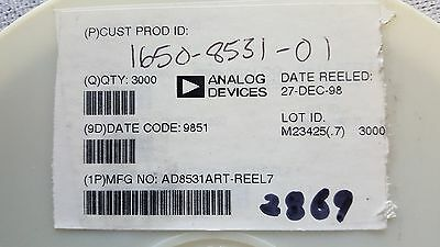 ANALOG DEVICES AD8531ART 6 TSOP Operational Amplifier IC  Qty-2869