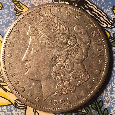 1921 United States Of America Silver Dollar Coin .900 Silver S Mint Mark