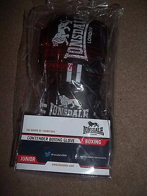 Lonsdale Contender Junior Training Boxing Bag Gloves Mitts Gym