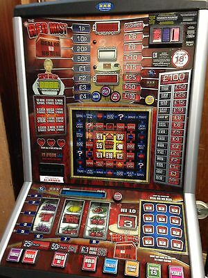 DEAL OR NO DEAL RED MIST £100 jackpot BRAND NEW NOTE ACCEPTOR FITTED