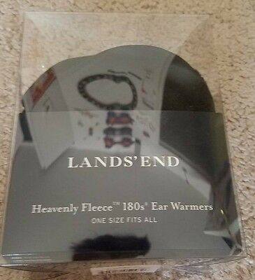 Lands End Heavenly Fleece 180s Ear Warmers Ear Muffs