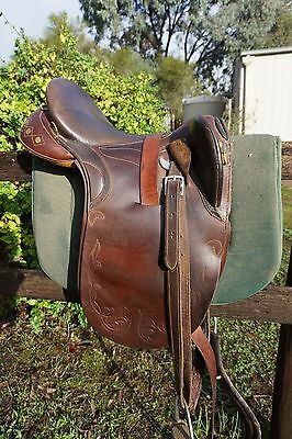 "Northern Rivers Drafter Australian Stock Saddle 17""."
