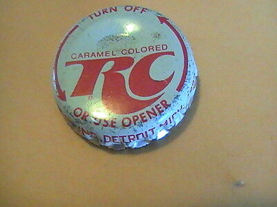 Royal Crown RC Cola cork bottle cap , Inc. Twist Off