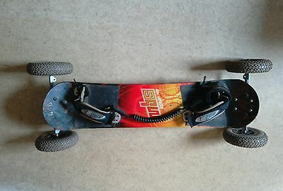MBS Comp 90 Mountainboard. mbs T2 tyres. Rockstar hubs. POSTAGE AVAILABLE