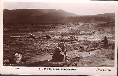 Penmaenmawr, Conwy - Druid's Circle, standing stones - RP by Evans (see cond.)