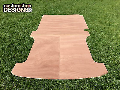 VW T5 Transporter LWB Camper / Day Van Interior 12mm Floor Ply Lining Kit