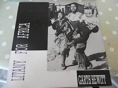 "Garth Hewitt - Litany For Africa - World Folk Music - France - 12"" 1986"