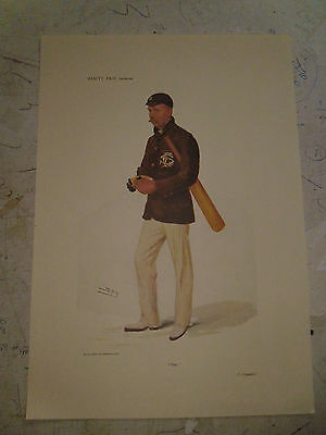 Vanity Fair Print Cricket Tom Thomas Hayward