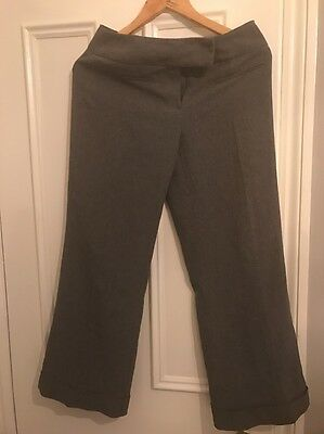 Grey Womens Smart trousers Size 8 - 10
