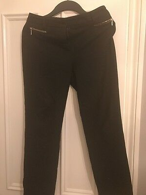 Womens smart Black Trousers from M&S Size UK 8