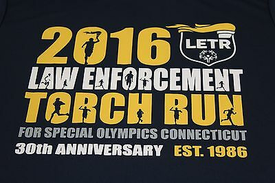 2015 CT Law Enforcement Torch Run blue SMALL
