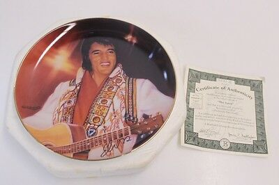 "The Bradford Exchange Ltd Ed. Nate Giorgio ""The Spirit"" Elvis Collectible Plate"