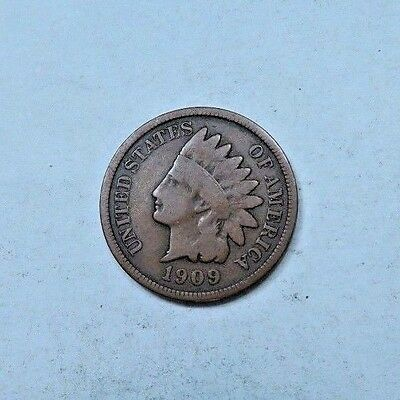 1909-S Indian Head Penny // VG // KEY DATE! // (I9844)