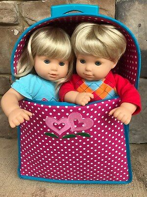 American Girl Doll Bitty Baby Twins blonde/blue eyes