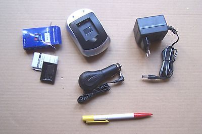 Photo Camera Acces. - BATTERIE+CHARGEUR / BATTERY+CHARGER set -Li40B for OLYMPUS