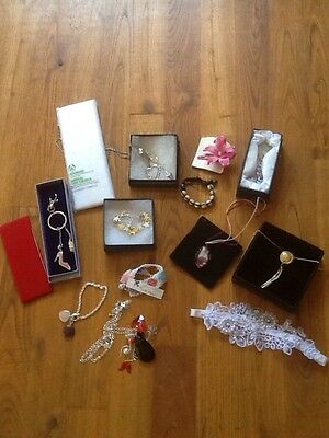 Job Lot Jewellery/hair Accessories 14 Item Bundle -Headbands/Bracelets/necklaces