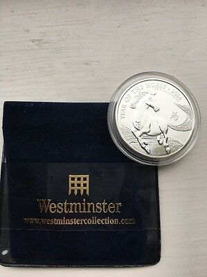 Westminster Collection 1oz Silver Lunar Zodiac 'Year Of The Horse 2014' £2 Coin
