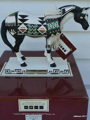 Trail of Painted Ponies Limited Ed. Lrg. TEWA HORSE w/box/hangtag 1,735/5000