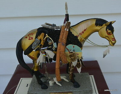 Trail of Painted Ponies Limited Ed. Lrg. MEDICINE HORSE w/box