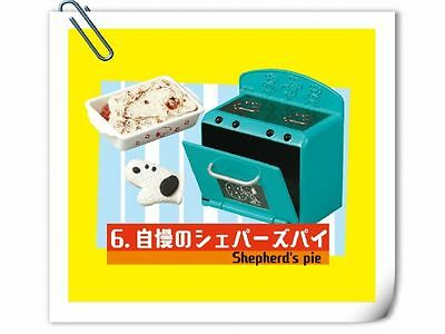 Re-ment Peanuts Snoopy Cocina Retro Kitchen cake Shepherd's Pastel estufa No. 6