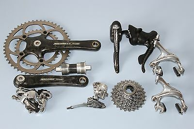 Campagnolo Record Carbon Compact Groupset 10 Speed Chainset Brakes Shifters