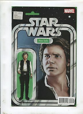 Star Wars #2 (9.0-9.2) Hans Solo Action Figure Variant!