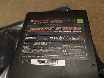 Thermaltake Smart Series SP-750M M750W ATX12V Modular PFC Active Power Supply
