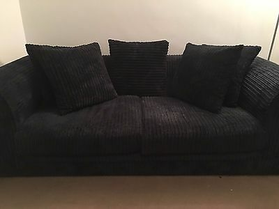 Milo Plain 3-seater Sofa - used for 6 months only