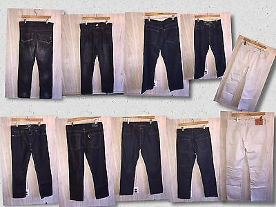 LOT of 5 Men's Pants Different Brands(Nautica, Levi's,etc)Size 32/32