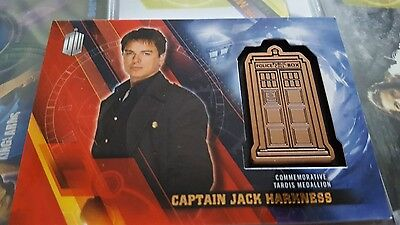 Doctor Who Timeless Trading Card Jack Harkness Medallion 127/150
