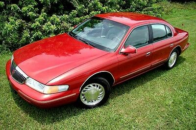 1997 Lincoln Continental  1997 LINCOLN CONTINENTAL ONLY 83K LOW MILES! BEAUTIFUL COLORS! NEW TIRES! FLA!