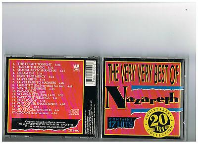 Nazareth Cd. The Very Best Of  . Rare Greatest Hits. Nazereth