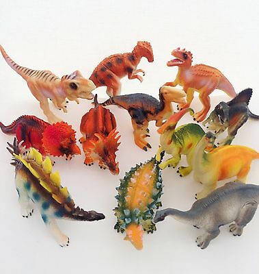 Large Bag Of Jurassic Dinosaurs Kids Dinosaur Figures Model Toys New