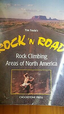 Rock and Road rock climbing areas of North America pre-owned
