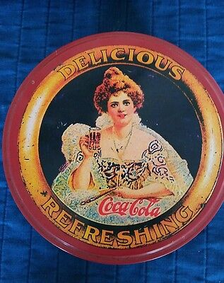 "Collectable Coca-Cola Tin 5 1/2""x3 1/2"""