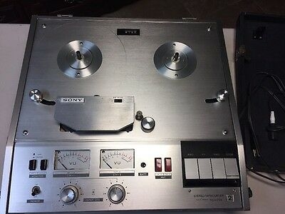 Sony TC-770-2 Portable Reel To Reel Recorder-SEE VIDEO TEST!!!