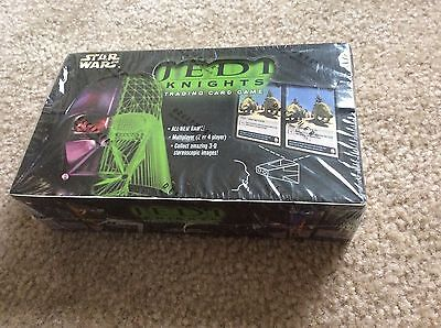 Star Wars Jedi Knights Trading Card Game Limited Edition Sealed Box