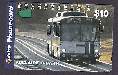 *TELSTRA.LIMITED EDITION.MINT.$10.Prefix 1028.ADELAIDE O-BAHN.*