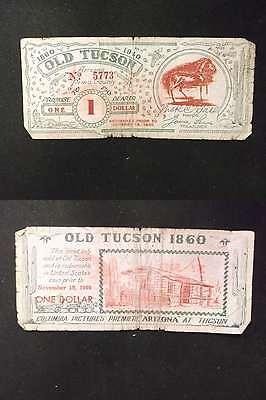 US 1940 Old Tuscon Coupon $1